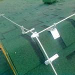 Молниезащита на крыше дома