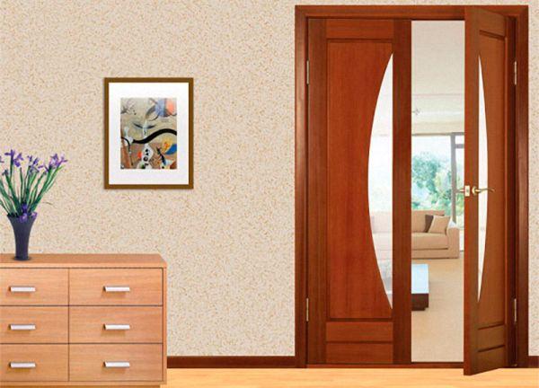 Распашные раздвижные двери