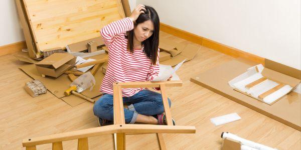 Помощь в сборке и разборке мебели